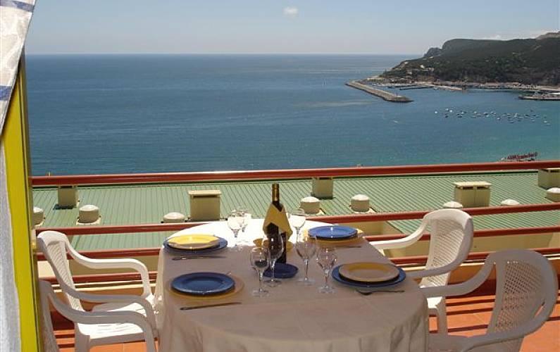 Apartamento para alugar a 300 m da praia Setúbal - Terraço