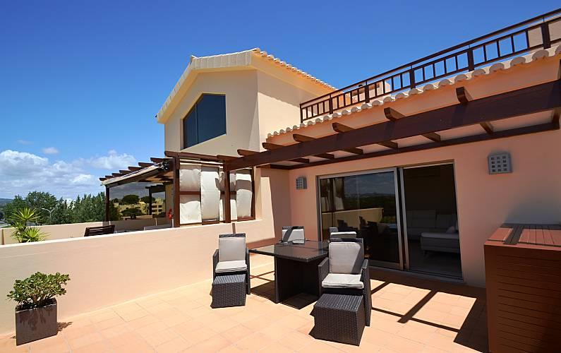 Unique Terrace Algarve-Faro Loulé Apartment - Terrace