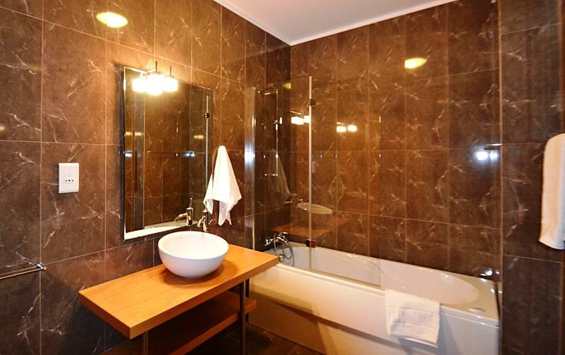Unique Bathroom Algarve-Faro Loulé Apartment - Bathroom