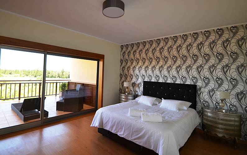 Unique Bedroom Algarve-Faro Loulé Apartment - Bedroom