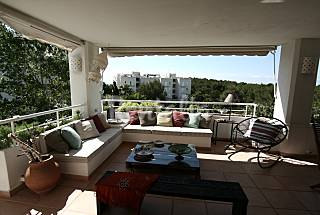Beach apartment, 6-7 people Ibiza