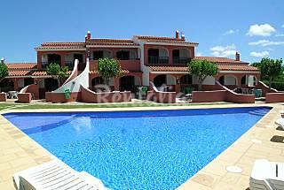 Apartamentos con piscina a 400 m de la playa Menorca