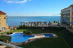 Apartment for rent on the beach front line Tarragona