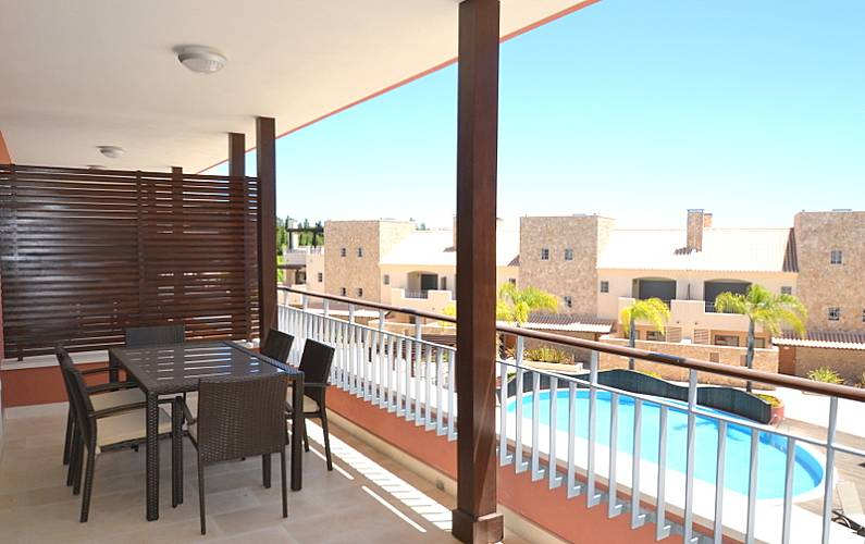 Luxuoso Terraço Algarve-Faro Loulé Apartamento - Terraço