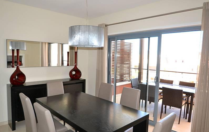 Luxuoso Sala de Jantar Algarve-Faro Loulé Apartamento - Sala de Jantar