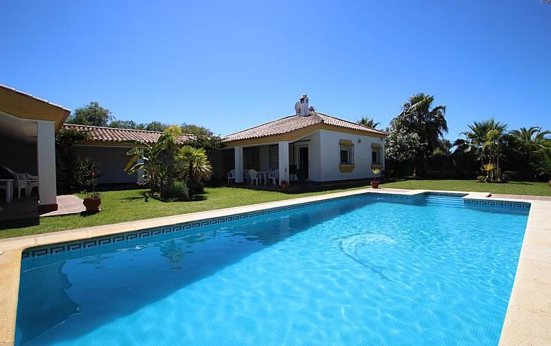 a6d2597958136 2 Casas con piscina privada cerca de la playa - Conil de la Frontera ...