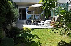 Garden apartment 6 pers 200 mts Beach Ostende Cantabria