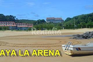 Isla apartamentos playa la arena piscina  Cantabria