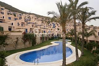 Apartamento para 4-5 personas a 400 m de la playa Almería