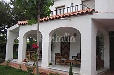 Villa independiente 6 personas a 250 m de la playa Castellón