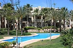 Apartamento  2 hab.en campo golf y piscinas,playa Murcia