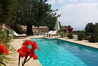 Casa tranquila con fantasticas vistas. Ibiza/Eivissa
