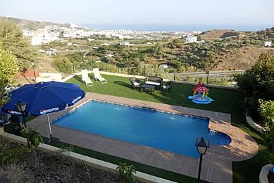 Casa para 6-8 personas a 2 km de la playa Málaga