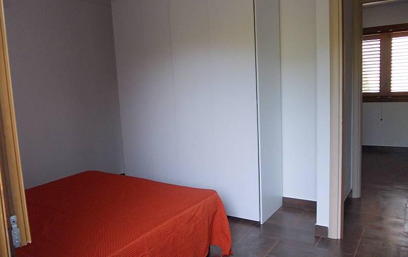 House Bedroom Ogliastra Cardedu Apartment - Bedroom