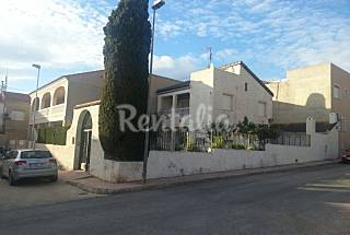 House with 5 bedrooms only 250 meters from the beach Murcia