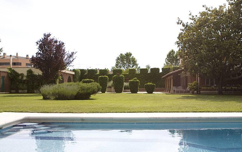 Casa de 5 habitaciones con piscina Rioja (La) - Jardín