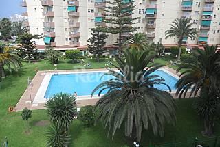 2 Estudios frente al mar en 1era línea de playa Granada