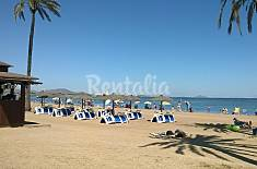 Apartment for 4-6 people only 60 meters from the beach Murcia
