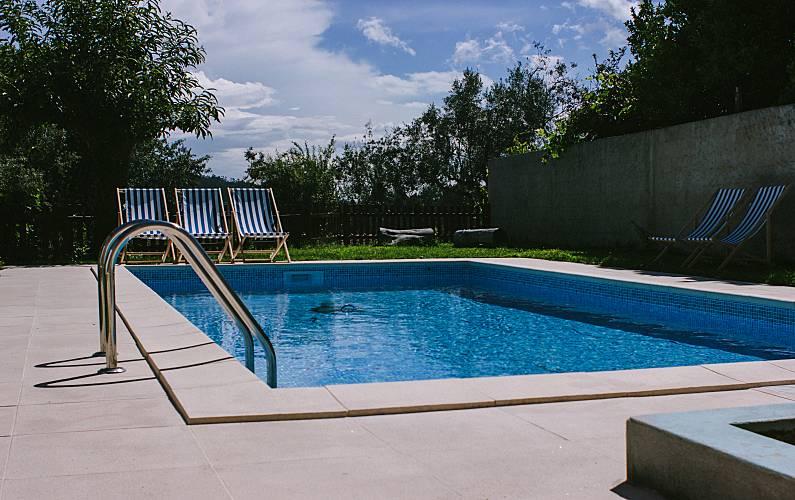 Casas Rosmaninho com piscina Aveiro - Piscina
