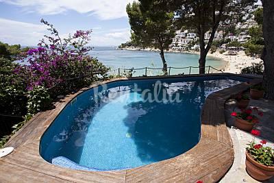 Villa de 6 habitaciones en 1a línea de playa Girona/Gerona
