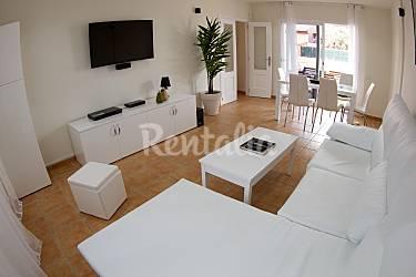 Villa Living-room Fuerteventura La Oliva Villas