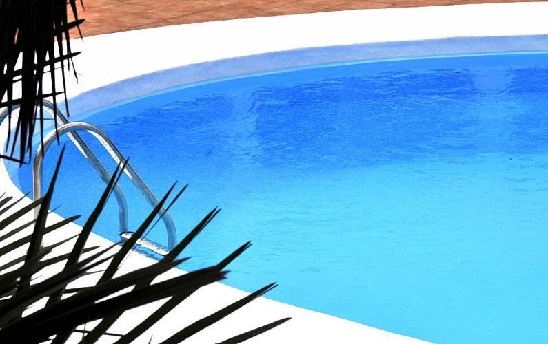 Vista Piscina Lanzarote Tías Apartamento - Piscina
