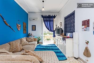 Apartamento de 2 habitaciones a 1000 m de la playa Palermo