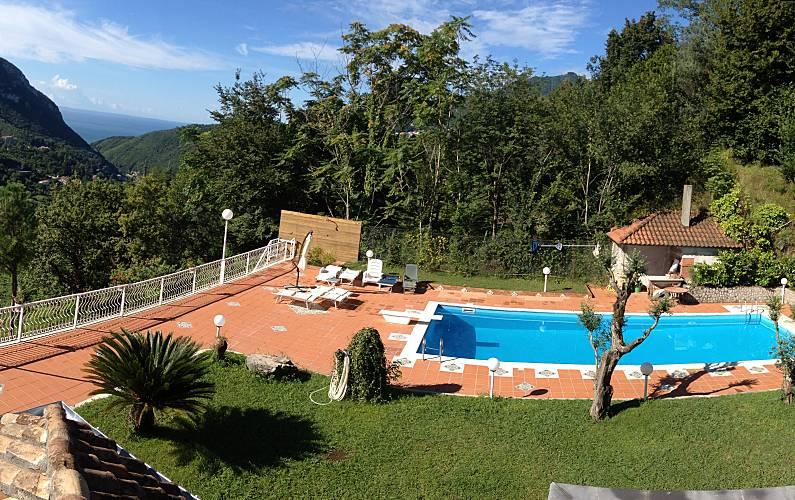Villa Vistas desde la casa Salerno Cava de' Tirreni villa - Vistas desde la casa