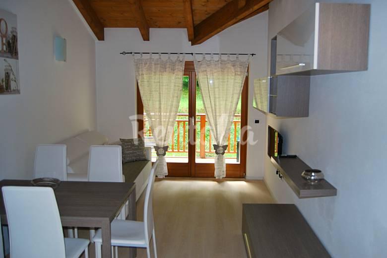 2 Living-room Trentino Stenico Apartment