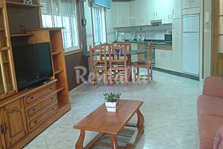 Apartments for 4-6 people only 30 meters from the beach Pontevedra
