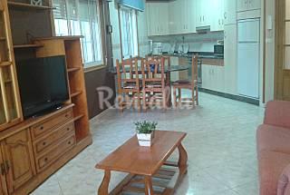 Apartamentos para 4-6 pessoas a 30 m da praia Pontevedra