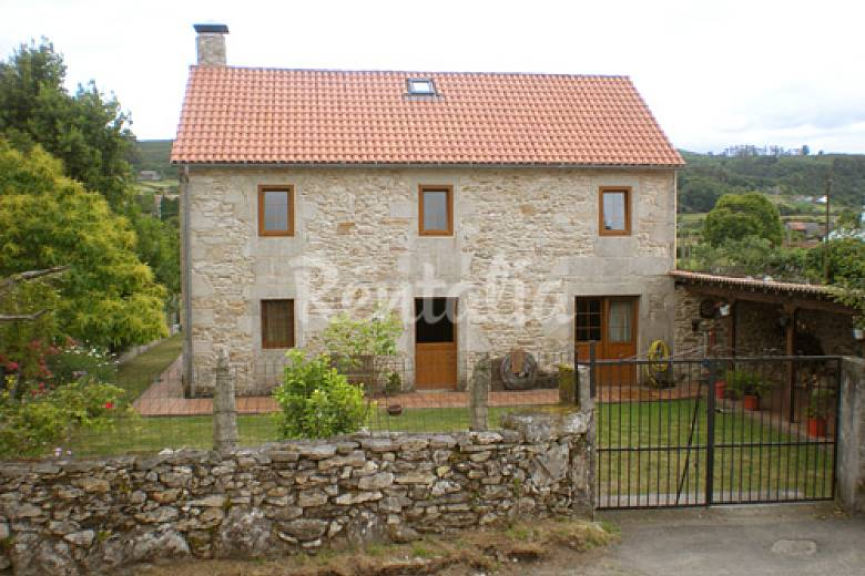 Casa 6 personas a 25 km de santiago de compostela - Casas de campo en galicia ...