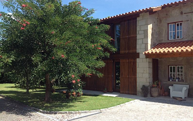 Vivenda para 6-7 pessoas com piscina Braga