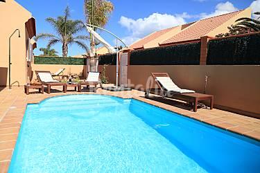 Villa Swimming pool Fuerteventura La Oliva Villas