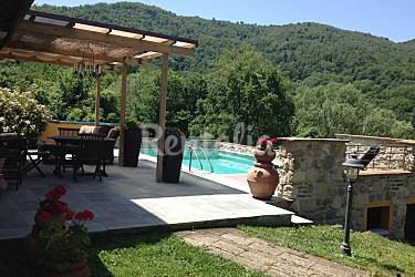 Indipendent Terrace Massa and Carrara Tresana Countryside villa