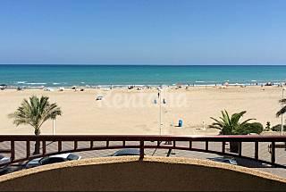 Apto. de capricho en 1a línea de playa (1-6 pax) Valencia