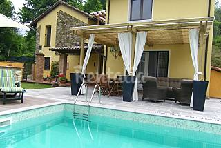 Indipendent villa in Tuscany Massa and Carrara
