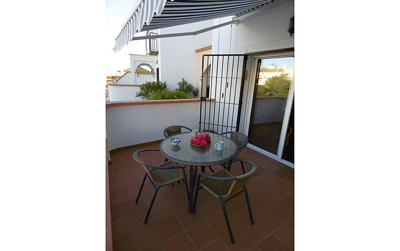 House for 4-5 persons only 600 meters from the beach Málaga - Terrace
