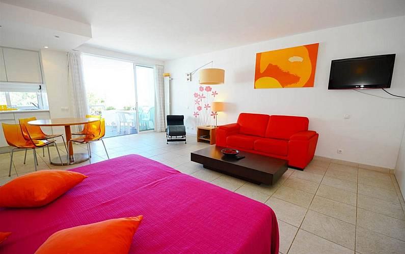 7970/AL Interior da casa Algarve-Faro Tavira Apartamento - Interior da casa