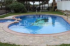 Cortijo y tres casas con piscina, para 32 persona. Cádiz