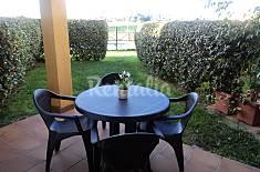 Bajo jardin y porche 1a linea de playa ,4 personas Cádiz