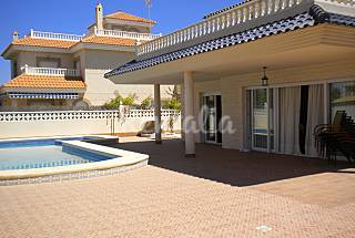 House with 5 bedrooms only 75 meters from the beach Murcia