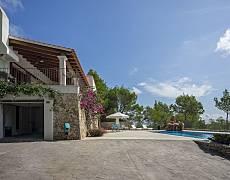 Villa te huur op 600 meter van het strand Ibiza