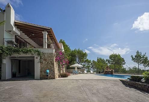 Villa en location à 600 m de la plage Ibiza