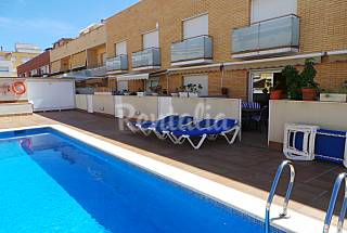 Villa for rent on the beach front line Barcelona