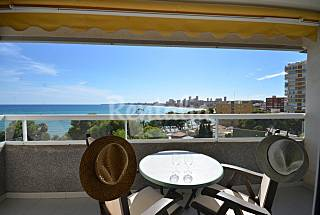 Jardin del mar 180, 4+2 pers, 300 playa arena Alicante