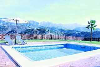Villa for 4-5 people 12 km from the beach Málaga
