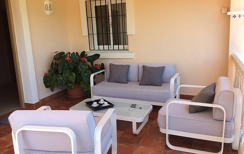 Magnificent Terrace Málaga Torremolinos villa - Terrace