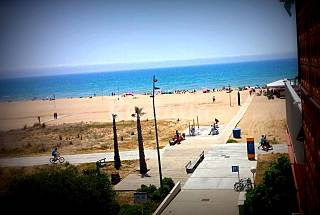Apartment in front line of the beach- 6 person Barcelona
