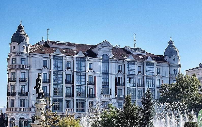Amplio Alrededores Valladolid Valladolid Apartamento - Alrededores